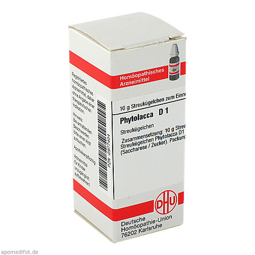 Phytolacca D1, 10 G, Dhu-Arzneimittel GmbH & Co. KG