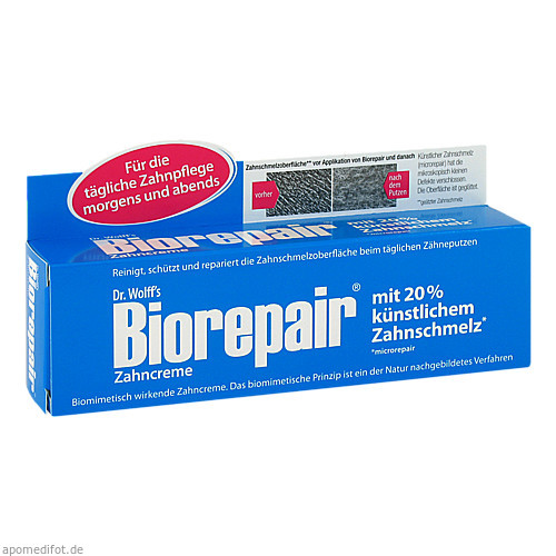 BioRepair Zahncreme, 75 ML, Dr. Kurt Wolff GmbH & Co. KG