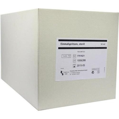Einmalspritzen steril 50ml, 10 ST, Fresenius Kabi Deutschland GmbH