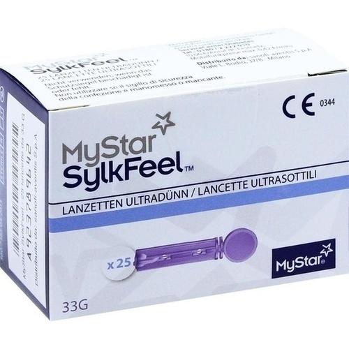 MYSTAR SylkFeel Lanzetten 33 G, 25 ST, Sanofi-Aventis Deutschland GmbH
