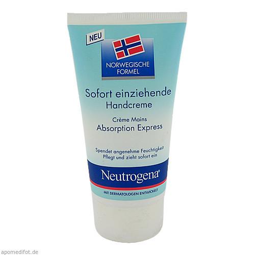 Neutrogena Norweg.Formel sofort einziehende Handcr, 75 ML, Johnson & Johnson GmbH