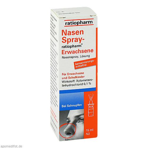 NasenSpray-ratiopharm Erwachsene, 15 ML, ratiopharm GmbH