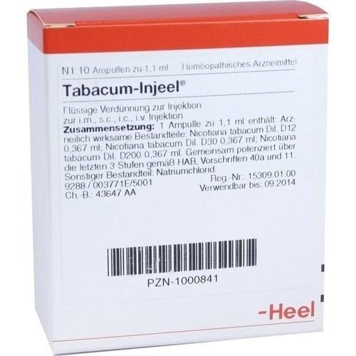 TABACUM INJ, 10 ST, Biologische Heilmittel Heel GmbH