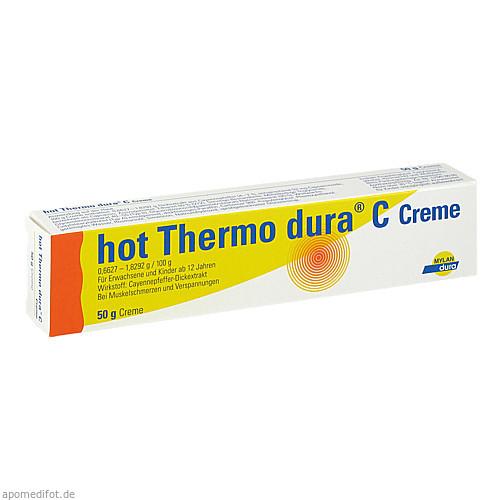 hot Thermo dura C Creme, 50 G, Mylan dura GmbH