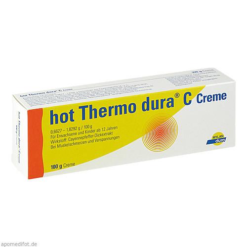 hot Thermo dura C Creme, 100 G, Mylan Healthcare GmbH