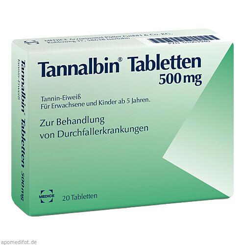 TANNALBIN, 20 ST, Medice Arzneimittel Pütter GmbH & Co. KG