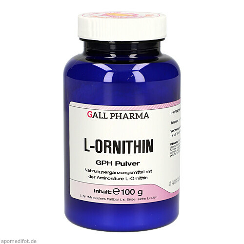 L-Ornithin Pulver, 100 G, Hecht-Pharma GmbH
