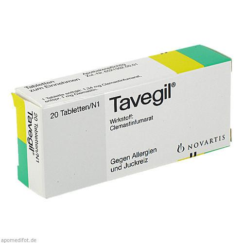 TAVEGIL, 20 ST, GlaxoSmithKline Consumer Healthcare