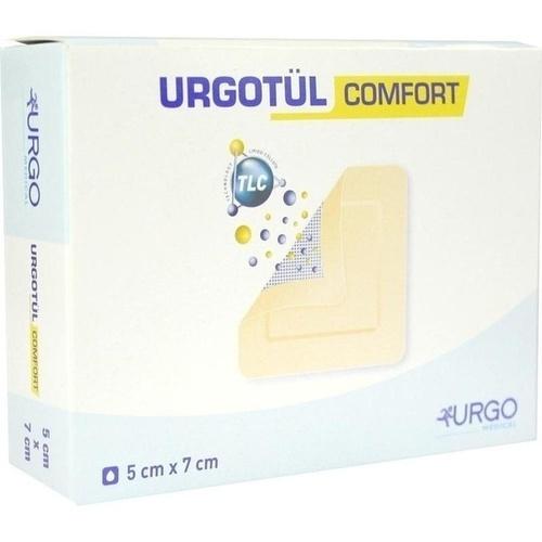 Urgotül comfort 5x7cm, 10 ST, Urgo GmbH