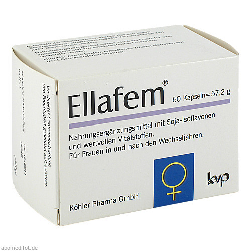 Ellafem, 60 ST, Köhler Pharma GmbH