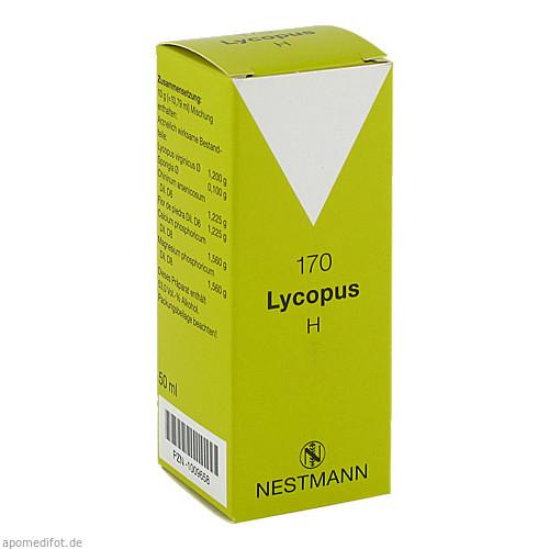 Lycopus H 170, 50 ML, Nestmann Pharma GmbH