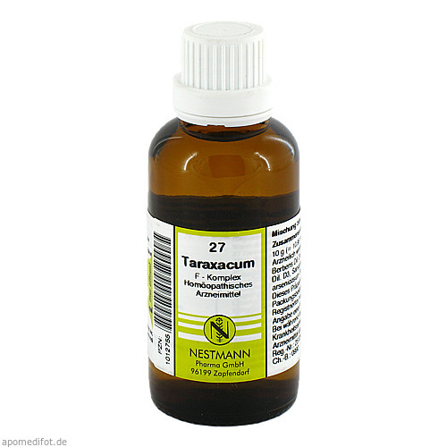 Taraxacum F Komplex 27, 50 ML, Nestmann Pharma GmbH