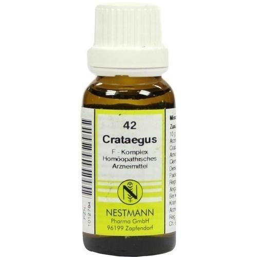 Crataegus F Komplex 42, 20 ML, Nestmann Pharma GmbH