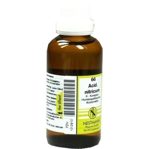 66 Acidum nitricum K Komplex, 50 ML, Nestmann Pharma GmbH