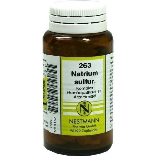 Natrium sulfur. Komplex 263, 120 ST, Nestmann Pharma GmbH