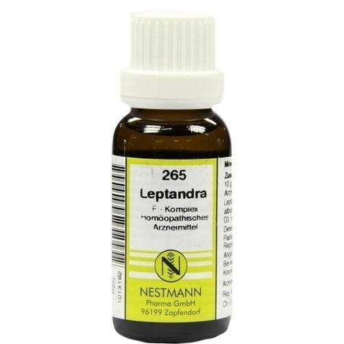 265 Leptandra F Komplex, 20 ML, Nestmann Pharma GmbH