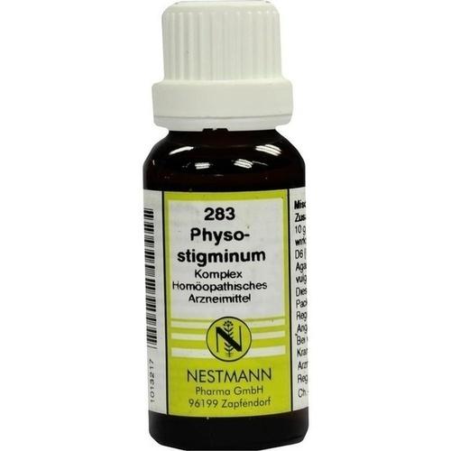 Physostigminum Komplex 283, 20 ML, Nestmann Pharma GmbH