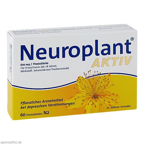 Neuroplant aktiv, 60 ST, Dr.Willmar Schwabe GmbH & Co. KG