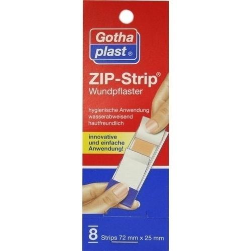 ZIP-Strip wasserabweisend 72x25mm, 8 ST, Gothaplast GmbH