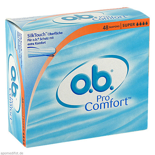 o.b. ProComfort Super, 48 ST, Johnson & Johnson GmbH