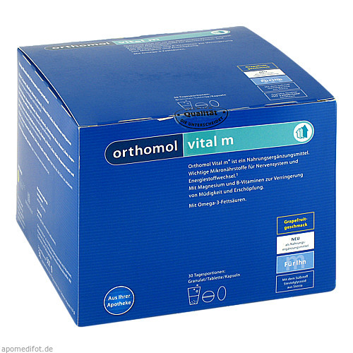 Orthomol Vital M Grapefruit Granulat/Kaps, 30 ST, Orthomol Pharmazeutische Vertriebs GmbH