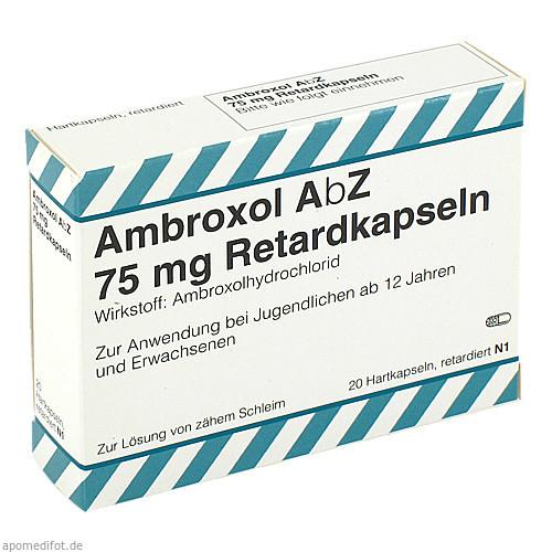 Ambroxol AbZ 75mg Retardkapseln, 20 ST, Abz Pharma GmbH
