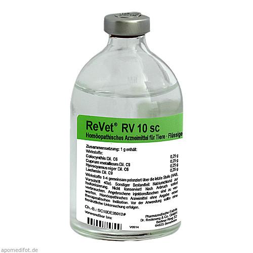 REVET RV 10 sc Inj.-Lösung vet., 100 ML, Dr.RECKEWEG & Co. GmbH