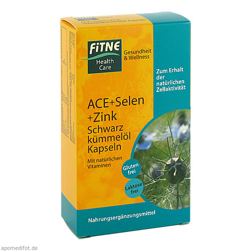 ACE+Schwarzkümmelöl Kapseln, 60 ST, Fitne Health Care GmbH