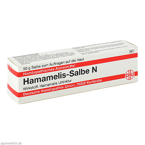 Hamamelis-Salbe N, 50 G, Dhu-Arzneimittel GmbH & Co. KG