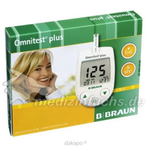 OMNITEST Plus Blutzuckermessgerät, 1 ST, B. Braun Melsungen AG