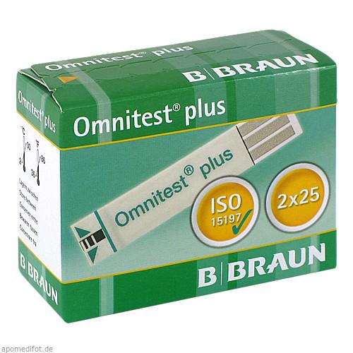 Omnitest plus Teststreifen, 2X25 ST, B. Braun Melsungen AG