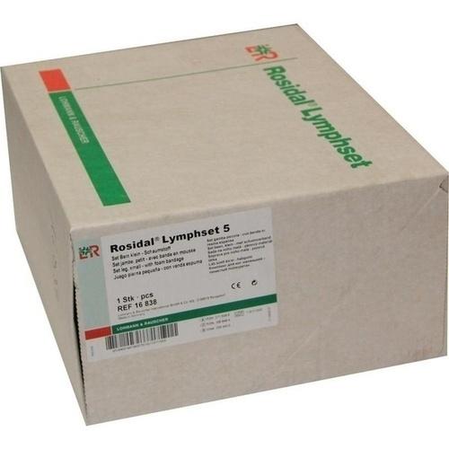 LYMPHSET 5 Bein klein Schaumstoffbinde, 1 ST, Lohmann & Rauscher GmbH & Co.KG