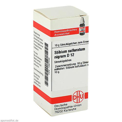 STIBIUM SULFURATUM NIGRUM D12, 10 G, Dhu-Arzneimittel GmbH & Co. KG