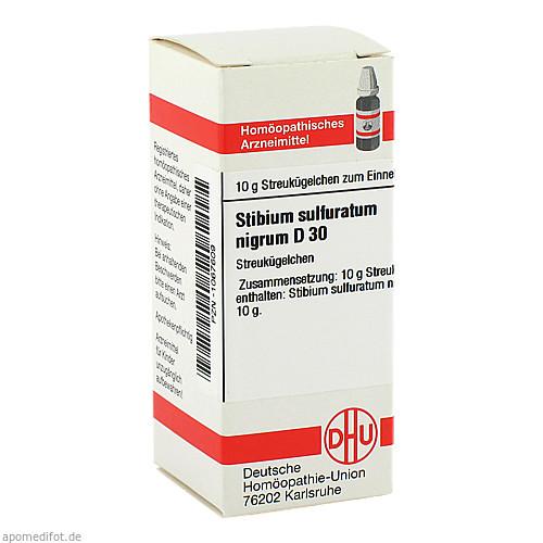 STIBIUM SULFURATUM NIGRUM D30, 10 G, Dhu-Arzneimittel GmbH & Co. KG