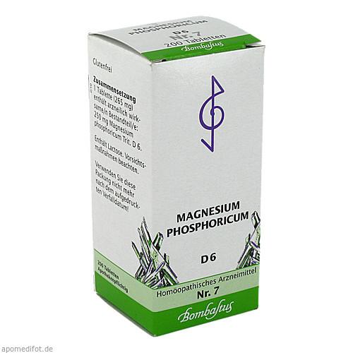 Biochemie 7 Magnesium phosphoricum D 6, 200 ST, Bombastus-Werke AG