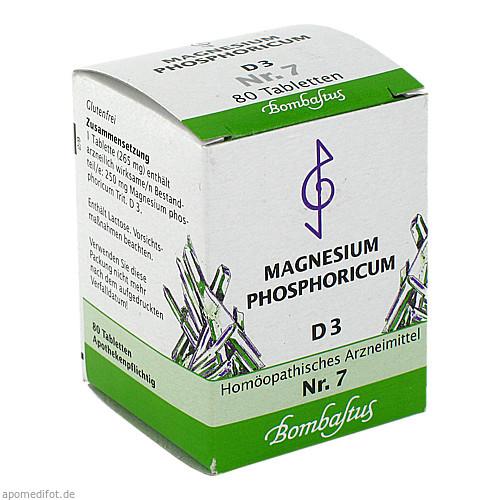 Biochemie 7 Magnesium phosphoricum D 3, 80 ST, Bombastus-Werke AG