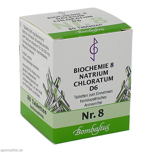 Biochemie 8 Natrium chloratum D 6, 80 ST, Bombastus-Werke AG
