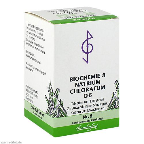 Biochemie 8 Natrium chloratum D 6, 500 ST, Bombastus-Werke AG