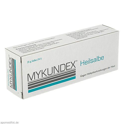 Mykundex Heilsalbe, 25 G, Riemser Pharma GmbH