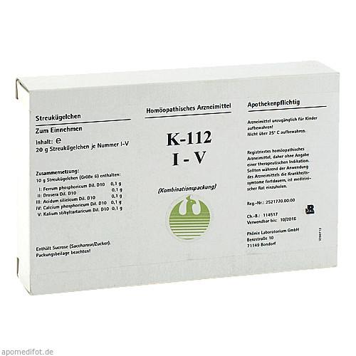 K-112 I-V, 5X20 G, Phönix Laboratorium GmbH