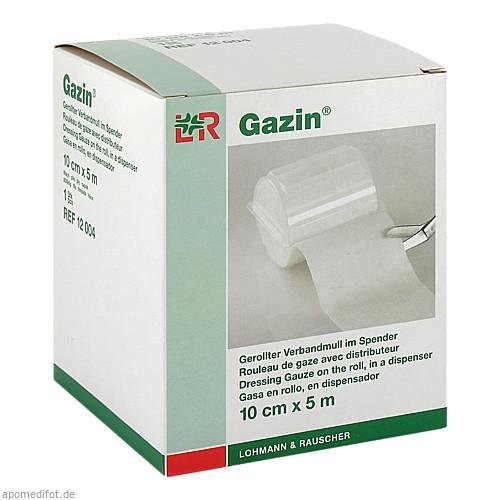 GAZIN VERBANDM 5MX10CM 8fach, 1 ST, Lohmann & Rauscher GmbH & Co. KG