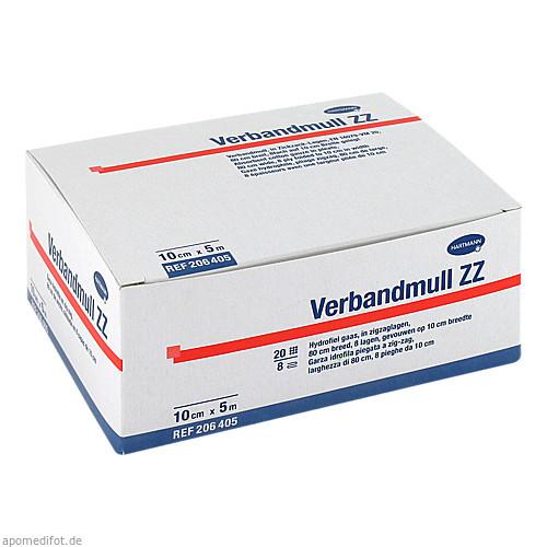 VERBANDMULL ZZ HART 5X10CM, 1 ST, Paul Hartmann AG