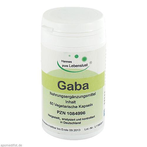 GABA Vegi Kapseln, 60 ST, G & M Naturwaren Import GmbH & Co. KG