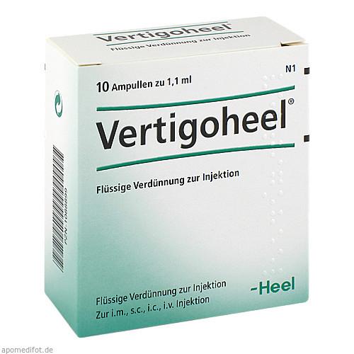 VERTIGOHEEL, 10 ST, Biologische Heilmittel Heel GmbH
