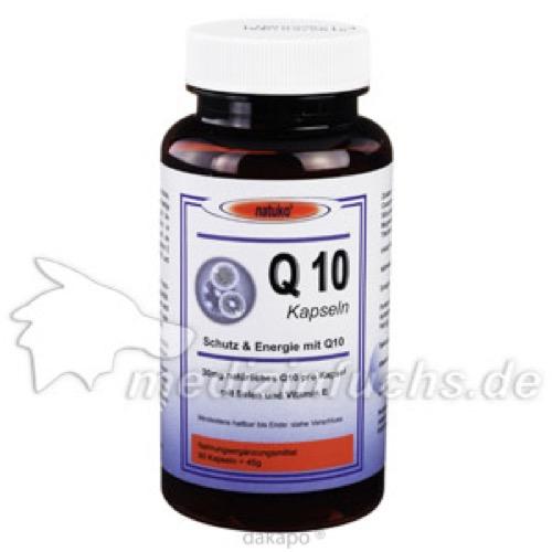 Q10 KAPSELN 30 mg natürliches Q10, 90 ST, natuko Versand