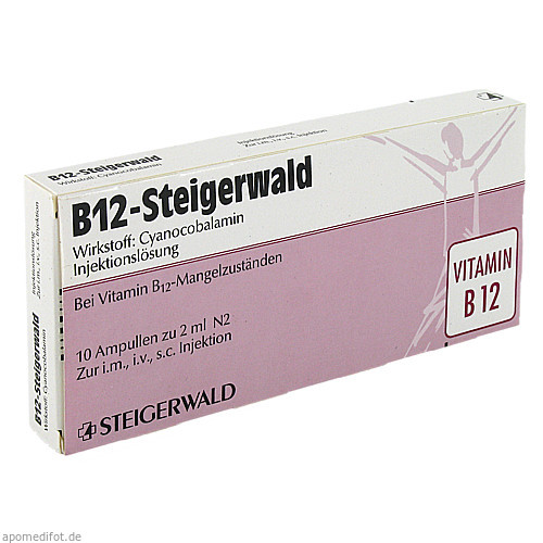 B12-STEIGERWALD, 10X2 ML, Bayer Vital GmbH