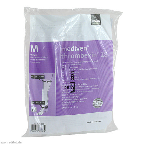 mediven thrombexin 18 Oberschenkel Gr.M, 2 ST, Medi GmbH & Co. KG