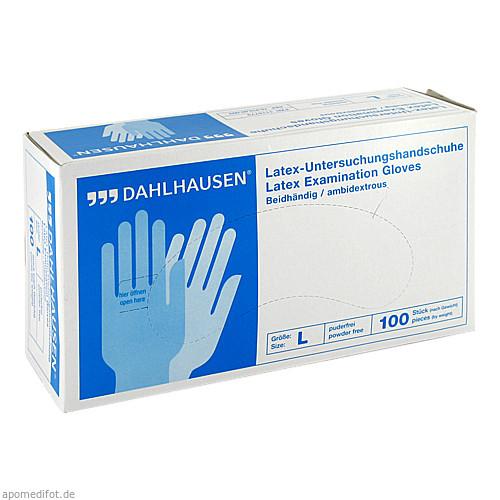 Latex-Handschuhe ungepudert Gr.L, 100 ST, P.J.Dahlhausen & Co. GmbH
