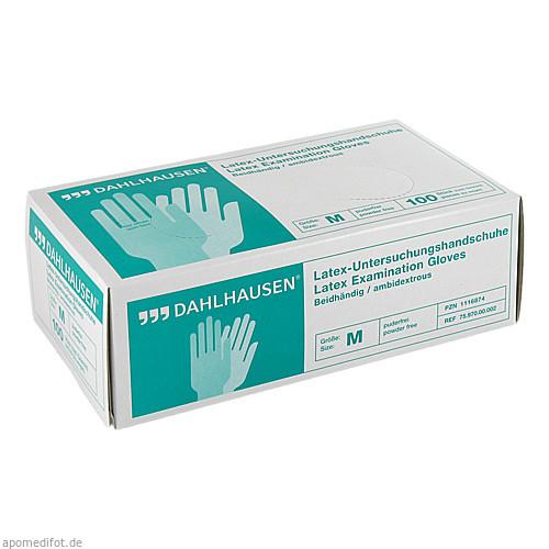 Latex-Handschuhe ungepudert Gr.M, 100 ST, P.J.Dahlhausen & Co. GmbH