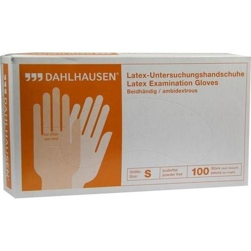 Latex-Handschuhe ungepudert Gr.S, 100 ST, P.J.Dahlhausen & Co. GmbH